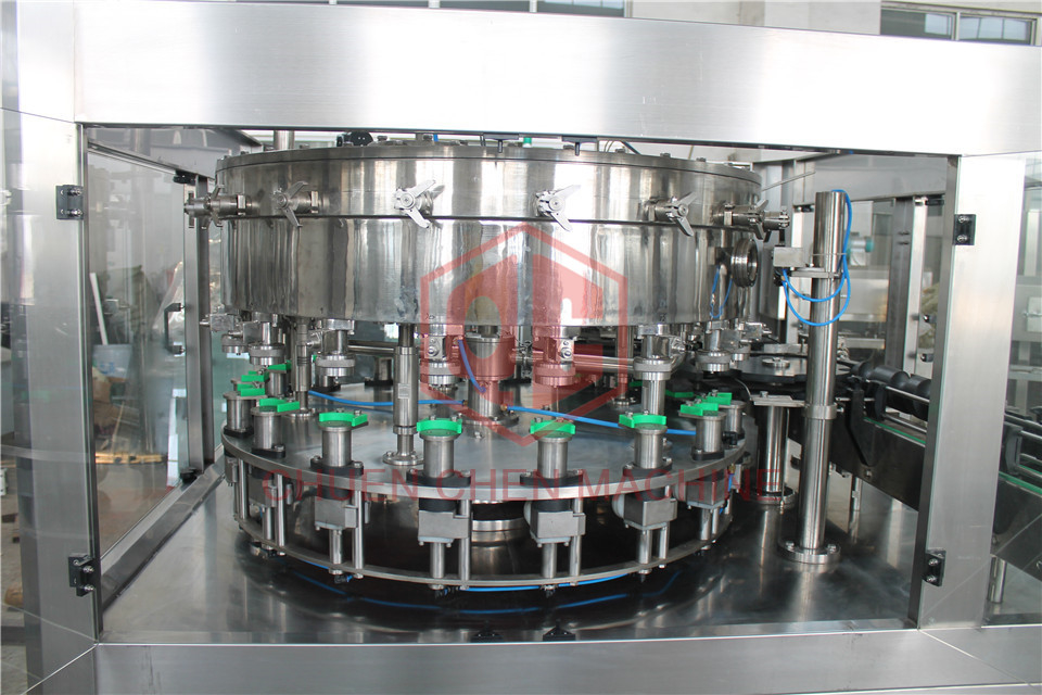 High Speed Automatic Water Filling System / Pet Bottle Filling Machine